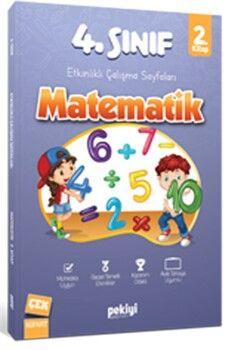 Pekiyi Yayınları 4. Sınıf Matematik Etkinlikli Çalışma Sayfaları 2. Kitap