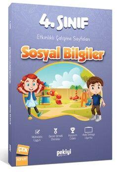 Pekiyi Yayınları 4. Sınıf Sosyal Bilgiler Etkinlikli Çalışma Sayfaları