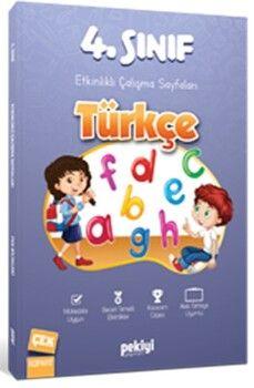 Pekiyi Yayınları 4. Sınıf Türkçe Etkinlikli Çalışma Sayfaları
