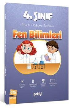 Pekiyi Yayınları 4. Sınıf Fen Bilimleri Etkinlikli Çalışma Sayfaları