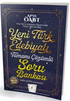 Pelikan 2017 ÖABT Yeni Türk Edebiyatı Tamamı Çözümlü Soru Bankası