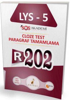 Pelikan Yayınevi LYS 5 R202 Cloze Test Paragraf Tamamlama