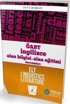 Pelikan Yayınları ÖABT İngilizce Alan Bilgisi ve Alan Eğitimi Kavramları ELT Linguistics Literature