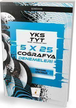 Pelikan Yayınları TYT Coğrafya 5x25 Denemeleri