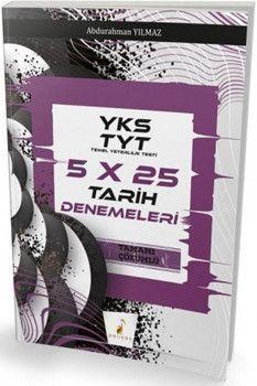 Pelikan Yayınları TYT Tarih 5x25 Denemeleri