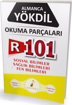Pelikan Yayınları YÖKDİL Almanca R101 Okuma Parçaları
