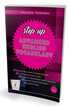 Pelikan Yayınları YDS TOEFL IELTS Step Up Advanced English Vocabulary