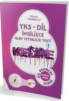Pelikan Yayınları YKS DİL İngilizce Alan Yeterlilik Testi Kelime Kitabı Dil Rehberi Serisi