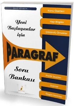 Pelikan Yayınları Yeni Başlayanlar İçin Paragraf Soru Bankası
