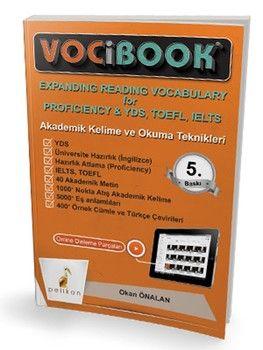 Pelikan Yayınları VOCIBOOK Akademik Kelime Ve Okuma Teknikleri