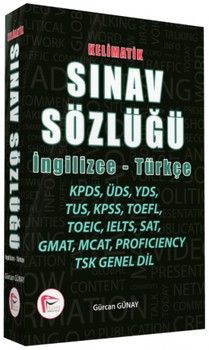Pelikan Yayınları Kelimatik Sınav Sözlüğü İngilizce Türkçe