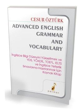 Pelikan Yayınları Advanced English Grammar Vocabulary