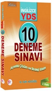 Pelikan Yayınları YDS Çözümlü10 Deneme