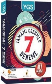 Pelikan Yayınları YGS Tamamı Çözümlü 7 Deneme M1 Serisi