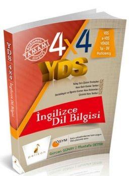 Pelikan Yayınları 4X4 YDS İngilizce Dilbilgisi 4. Kitap