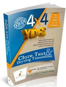 Pelikan Yayınları 4X4 YDS Cloze Test Diyalog Tamamlama 3. Kitap