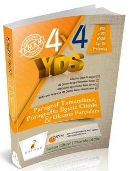 Pelikan Yayınları 4X4 YDS Paragraf Tamamlama Paragrafta İlgisiz Cümle ve Okuma Parçaları 2. Kitap