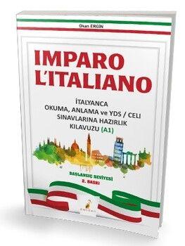 Pelikan Yayınları YDS Imparo Litaliano İtalyanca Okuma ve Anlama Kılavuzu