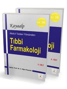 Pelikan Yayınları Akılcıl Tedavi Yönünden Tıbbi Farmakoloji Tamamı 1 ve 2 Cilt