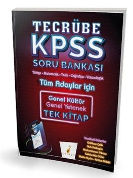 Pelikan Yayınları KPSS Genel Yetenek Genel Kültür Tecrübe Dijital Çözümlü Soru Bankası