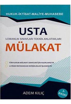 Pelikan Yayınları 2017 Uzmanlık Sınavları İçin Usta Mülakat Hukuk İktisat Maliye Muhasebe