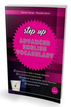 Pelikan Yayınları YDS TOEFL IELTS Step Up Advanced English Vocabulary