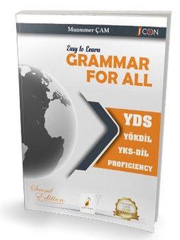 Pelikan Yayınları Easy to Learn Grammar For All YDS YÖKDİL YKSDİL PROFICIENCY