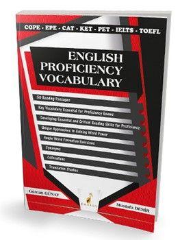 Pelikan Yayınları English Proficiency Vocabulary