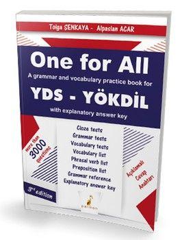 Pelikan Yayınları One For All A Grammar and Vocabulary Practice Book For YDS YÖKDİL