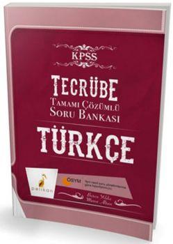Pelikan Yayınları KPSS Tecrübe Türkçe Tamamı Çözümlü Soru Bankası