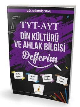 Pelikan Yayınları TYT AYT Din Kültürü ve Ahlak Bilgisi Defterim