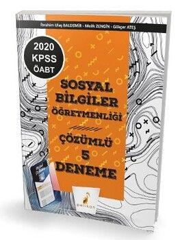 Pelikan Yayınları 2020 KPSS ÖABT Sosyal Bilgiler Öğretmenliği Dijital Çözümlü 5 Deneme Sınavı