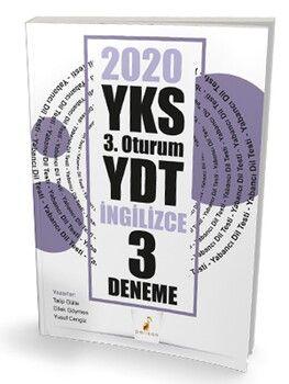 Pelikan Yayınları 2020 YKS YDT İngilizce 3 Deneme Sınavı
