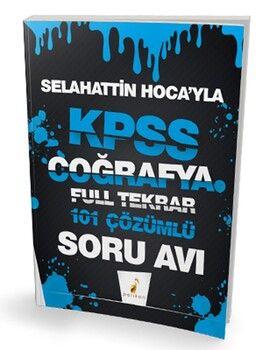 Pelikan Yayınları KPSS Selahattin Hocayla Coğrafya Soru Avı 101 Çözümlü Soru Full Tekrar