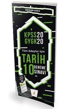 Pelikan Yayınları 2020 KPSS Tarih Dijital Çözümlü 10 Deneme Sınavı