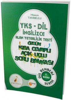 Pelikan Yayınları YKSDİL İngilizce Alan Yeterlilik Testi Özgün Kısa Cevaplı Açık Uçlu Soru Bankası