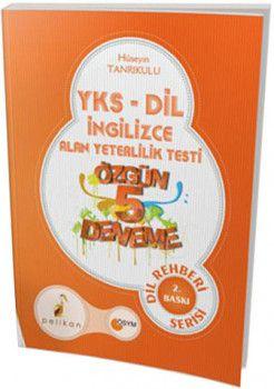 Pelikan Yayınları YKSDİL İngilizce Alan Yeterlilik Testi Özgün 5 Deneme
