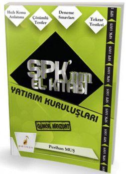 Pelikan Yayınları SPK Yatırım Kuruluşları El Kitabı