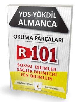 Pelikan Yayınları YDS YÖKDİL Almanca R101 Okuma Parçaları