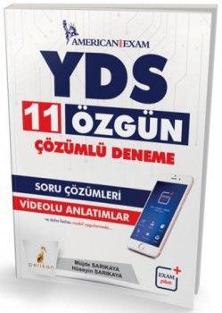 Pelikan Yayınları YDS Özgün 11 Çözümlü Deneme