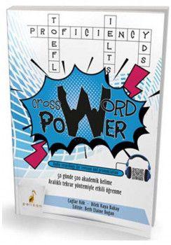 Pelikan Yayınları YDS TOEFL IELTS PROFICIENCY Crossword Power 50 Günde 500 Akademik Kelime