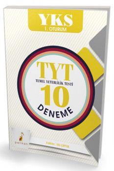 Pelikan Yayınları YKS 1. Oturum TYT 10 Deneme
