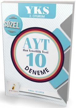 Pelikan Yayınları YKS 2. Oturum AYT Sözel 10 Deneme