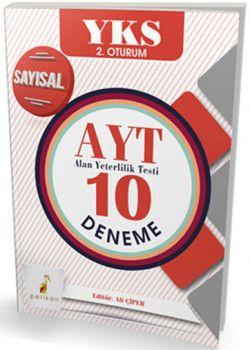 Pelikan Yayınları YKS 2. Oturum AYT Sayısal 10 Deneme