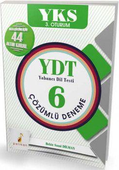 Pelikan Yayınları YKS 3. Oturum YDT Çözümlü 6 Deneme