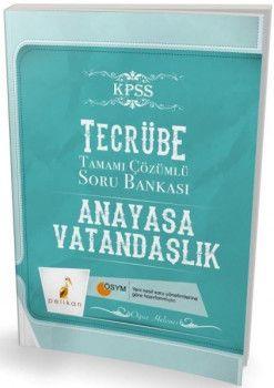 Pelikan Yayınları Tecrübe KPSS Vatandaşlık Tamamı Çözümlü Soru Bankası