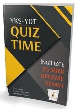 Pelikan Yayınları YKS YDT İngilizce Quiz Time 25 Mini Deneme