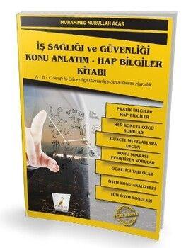 Pelikan Yayınları İş Sağlığı ve Güvenliği İSG Konu Anlatım