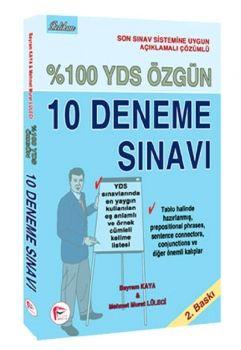 Pelikan Yayınları YDS Özgün 10 Deneme Çözümlü