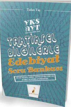 Pelikan Yayınları AYT Taktiksel Bilgilerle Edebiyat Soru Bankası